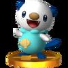 Trofeo de Oshawott SSB4 (3DS)