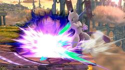 Ataque Smash hacia abajo Mewtwo (2) SSB4 (Wii U)