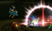 Golpe Crítico Roy (4) SSB4 (3DS)