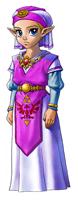 Pegatina de Zelda joven (Ocarina of Time)