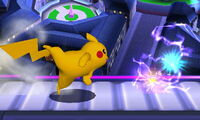 Smash lateral Pikachu SSB4 (3DS)