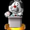 Trofeo de Inuji Darumeshi SSB4 (3DS)