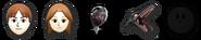 Iconos de vida sin utilizar SSB4 (Wii U)