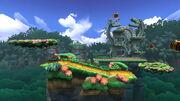 Jungla escandalosa SSB4 (Wii U)
