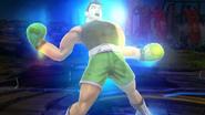Little Mac con el brillo del Smash Final SSB4 (Wii U)