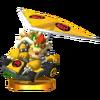 Trofeo de Bowser (kart estándar) SSB4 (3DS)