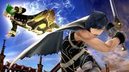 Daraen haciendo su Smash Final en el Coliseo SSB4 (Wii U)