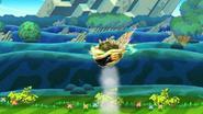 Fortaleza giratoria (2) SSB4 (Wii U)