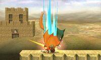 Lanzamiento superior de Charizard (2) SSB4 (3DS)