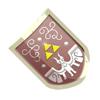 Pegatina Escudo del Héroe SSBB