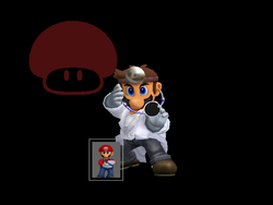 Pose de victoria Dr. Mario X (4) SSBM