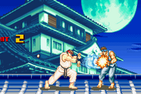 Ryu usando Shinku Hadoken en Super Street Fighter II Turbo Revival