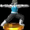 Trofeo de El guerrero SSB4 (3DS)