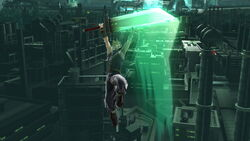 Ataque aéreo hacia arriba Cloud SSB4 (Wii U)