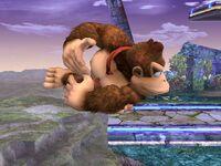 Ataque de recuperación de borde Donkey Kong SSBB (2)