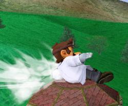 Ataque rápido de Dr. Mario SSBM
