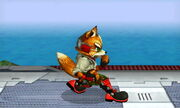 Burla inferior Fox SSB4 (3DS)