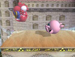 Lanzamiento hacia atrás Jigglypuff SSBB (3)