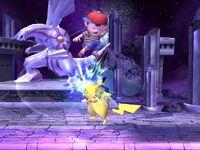 Lanzamiento superior Pikachu SSBB