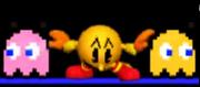 Pac-Man Ataque Smash Inferior SSB 3DS