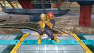 Pose de espera de Captain Falcon (2-1) SSB4 (Wii U)