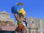 Toon Link con una bomba SSBB