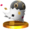 Trofeo de Spewpa SSB4 (3DS)