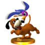 Trofeo del Dúo Duck Hunt SSB4 (3DS)