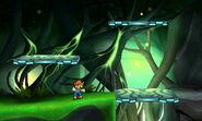 Zona subterránea de la Smashventura Versión Final SSB4 (3DS)