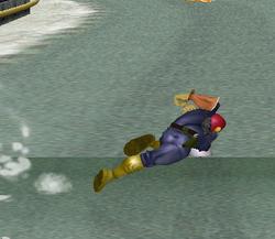 Ataque rápido de Captain Falcon SSBM