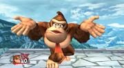 Burla hacia abajo de Donkey Kong SSBB