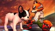 Créditos Modo Senda del guerrero Fox SSB4 (3DS)
