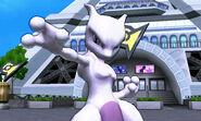 Mewtwo en la Torre Prisma SSB4 (3DS)