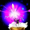 Trofeo de Báculo sombrío SSB4 (Wii U)