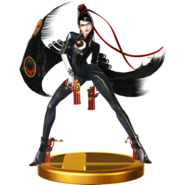 Trofeo de Bayonetta (original) SSB4 (Wii U)