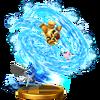Trofeo de Bramido torrencial SSB4 (Wii U)