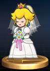 Trofeo de Peach (novia) SSBB