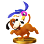Trofeo del Dúo Duck Hunt SSB4 (Wii U)