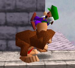 Agarre de Donkey Kong (2) SSB