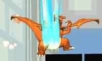 Ataque smash inferior Charizard (2) SSB4 (3DS)