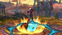 Lanzamiento hacia abajo Tirador Mii SSB4 Wii U