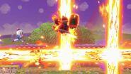 Bombas de Bomberman explotando SSBU