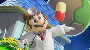 Burla de Dr. Mario en Mario Galaxy SSBU