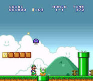 Champiñon venenoso Super Mario Bros. The Lost Levels SNES