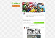 Comunidad Super Smash Bros. for 3DS Wii U