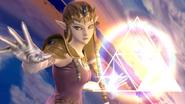 Créditos Modo Senda del guerrero Zelda SSB4 (Wii U)