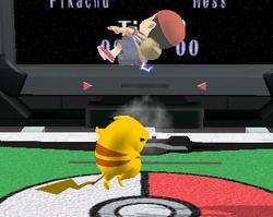 Lanzamiento hacia arriba de Pikachu (3) SSBM