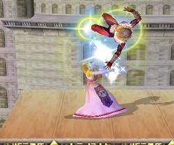 Lanzamiento hacia arriba de Zelda (1) SSBM
