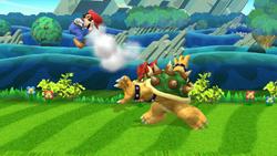 Lanzamiento trasero de Bowser (2) SSB4 (Wii U)