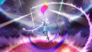 Mewtwo usando su Smash Final SSB4 (Wii U)
